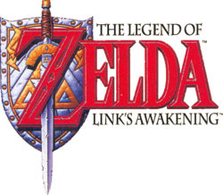 Logo The Legend of Zelda Link's Awakening