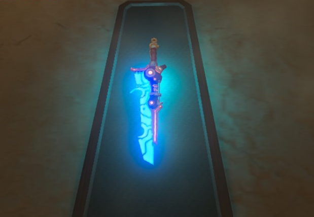 File:Breath of the Wild Ancient Soldier Gear (Sword) Ancient Short Sword (Mounted).png
