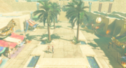 Breath of the Wild Gerudo Town Marketplace (Gerudo Desert)