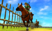 Course à cheval OoT3D