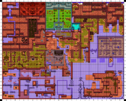 Labrynna Coordinate Map (Past)