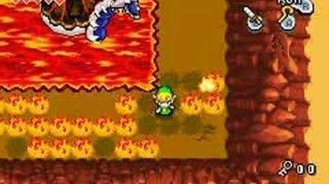 Legend of Zelda The Minish Cap - Boss 2 Gleerok