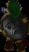Spiegelschield(Majora's Mask) Hinteransicht