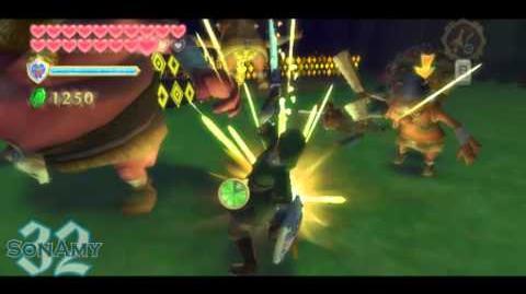 Zelda Skyward Sword Dolphin - La Orda (Modo Heroe)
