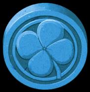 Artwork Piedra de la Suerte azul