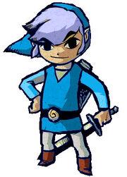 Link azul
