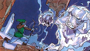 Link contre Ganon LoZ