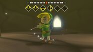Link haciendo sonar la Melodía del Espíritu del Viento TWW HD