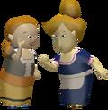 Pompie and Vera Figurine