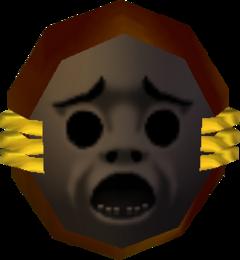 Spiegelschild Majoras Mask