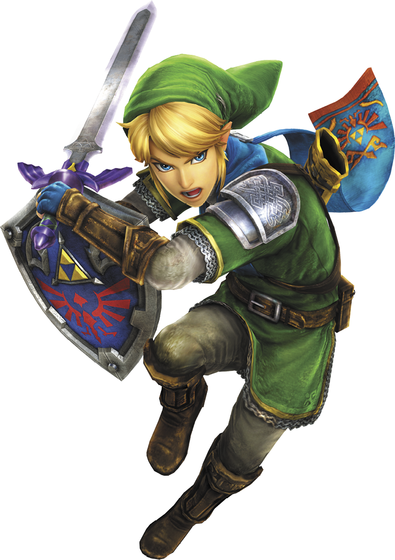 Image - Hyrule Warriors Legends Link Master Sword & Hylian ...