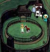 Mapa Rancho Lon Lon OoT