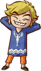The Wind Waker Artwork Link - Outset Island Outfit (Artwork)