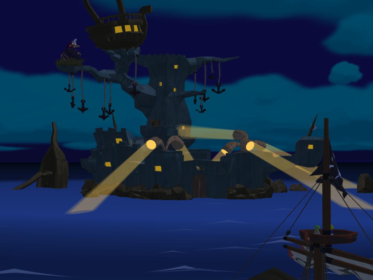 wind waker forsaken fortress