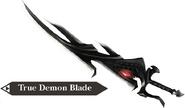 Hyrule Warriors Demon Blade True Demon Blade (Render)