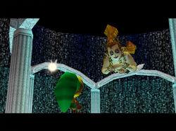 Link Deku y la Gran Hada de la Magia