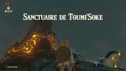 Sanctuaire de Toumi'Soke BOTW