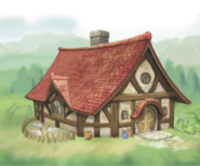 Hyrule Warriors Legends Locations Linkle's House - Exterior (Artwork)