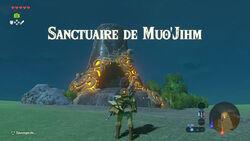 Sanctuaire de Muo'Jihm BOTW