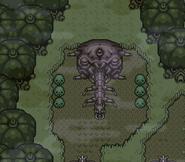 Entrée Forêt Squelettes ALttP