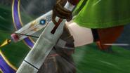 Hyrule Warriors Crossbows Linkle reloading her Hylian Crossbows (Victory Cutscene)