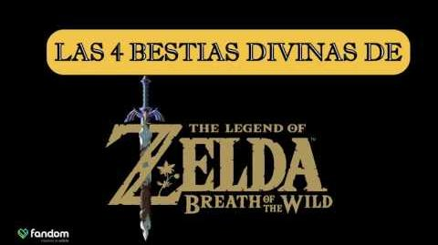 La Historia de las 4 Bestias Divinas – TLO Zelda Breath of the Wild en español