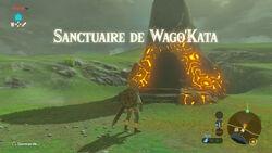 Sanctuaire de Wago'Kata BOTW