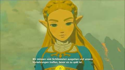 The Legend of Zelda Breath of the Wild - Die Wunde Erinnerung Cutscene (Nr