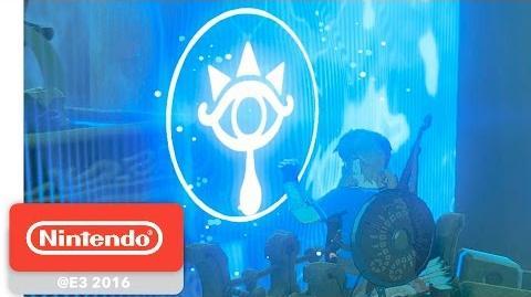 The Legend of Zelda Breath of the Wild - Shrine of Trials Gameplay Partie 4 - E3 2016