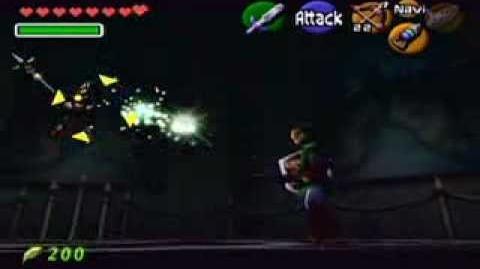 Batalla contra Ganon Fantasma OoT
