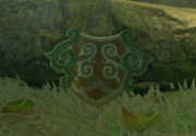 Breath of the Wild Korok Forest (The Test of the Wood) Forest Dweller's Shield (Great Hyrule Forest)