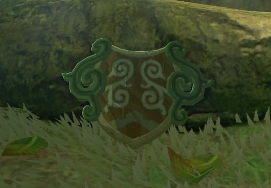 Forest Dweller's Shield | Zeldapedia | FANDOM powered by Wikia