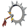 Breath of the Wild Sheikah Yiga Clan Weapons Demon Carver (Icon)