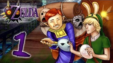 Let's Replay Zelda Majora's Mask -German---1- - Wie doch die Zeit vergeht!