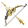 Breath of the Wild amiibo Rune Items Twilight Bow (Icon)