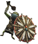 Hyrule Warriors Enemies Shield Bulblin (Render)