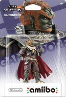 Embalaje americano del amiibo de Ganondorf - Serie Super Smash Bros.