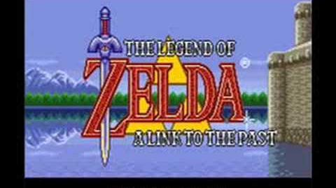 Legend Of Zelda A Link To The Past Dark World overworld OST