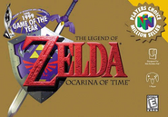 The Legend of Zelda - Ocarina of Time (Player's Choice)