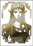 Zelda Decal Stickers TLoZ Tradind Cards