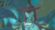 Breath of the Wild Zora Prince Sidon (Cutscene Title - Zora's Domain)