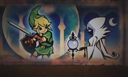 Cya contemplando a Link
