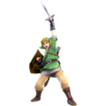 Hyrule Warriors Link Knight of Skyloft Tunic (DLC Costume)