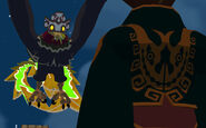 Maskenkönig direkt vor Ganondorf