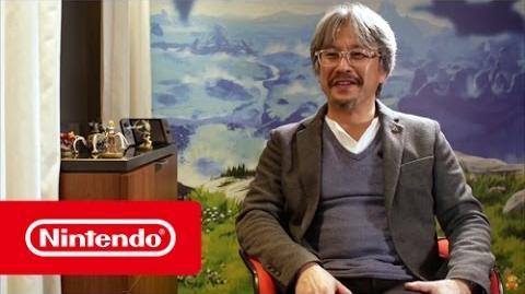 The Legend of Zelda Breath of the Wild – Interview Eiji Aonuma