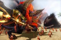 Hyrule Warriors Ganon's Fury King of Evil Trident (Boss Weak Point Smash)