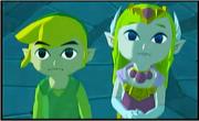 Zelda und link (The Wind Waker)