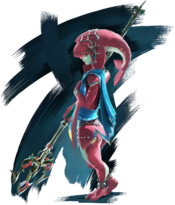 Artwork de Mipha BotW