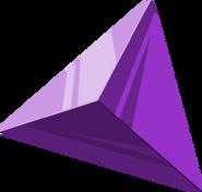 Artwork oficial de una Gema de Fuerza Púrpura FSA