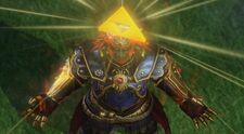 Ganondorf Trifuerza completa HW